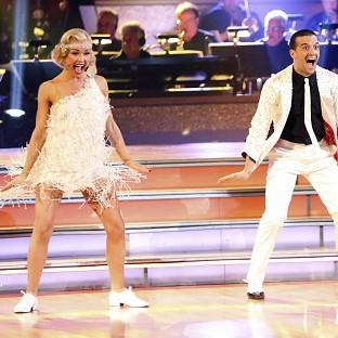 Katherine Jenkins narrowly missed out on the DWTS trophy