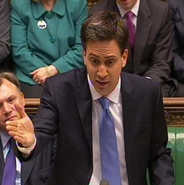 Ed Miliband criticised the Prime Minister over a report, which recommends making it easier for businesses to sack workers
