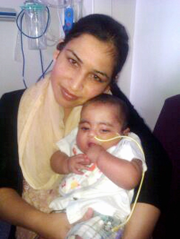 Devoted mother Fozia Ahmed who was killed