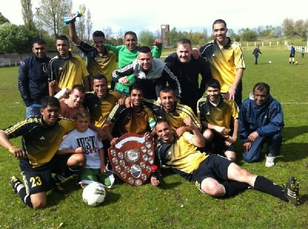 Coppice storm to another cup win