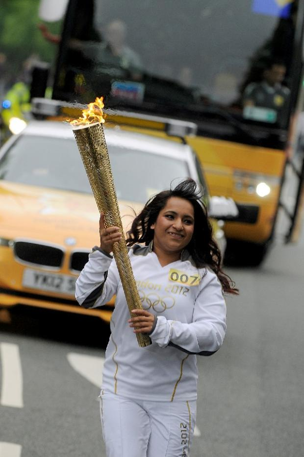 Where to see the Olympic flame