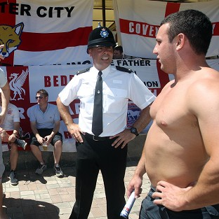 England fans ready to cheer on team