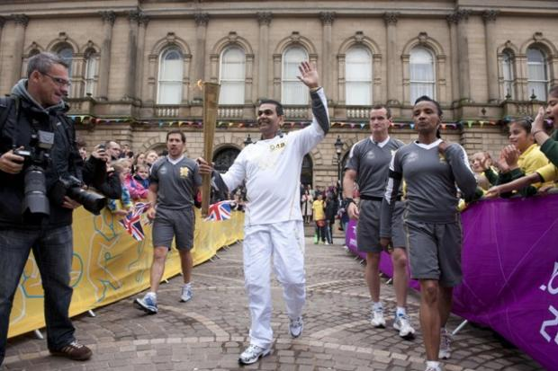 PICTURES: Torch relay in North West