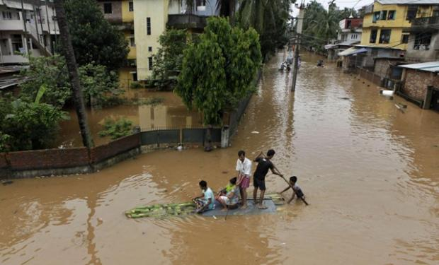 Picture of the day: Floods in India