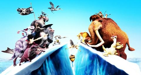 Review: Ice Age 4: Continental drift 3D, (U)