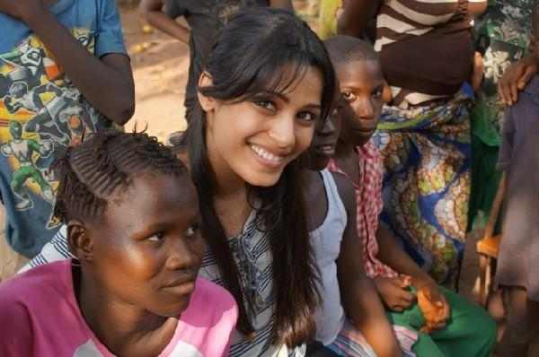 Freida Pinto backs 'Because I am a Girl' campaign