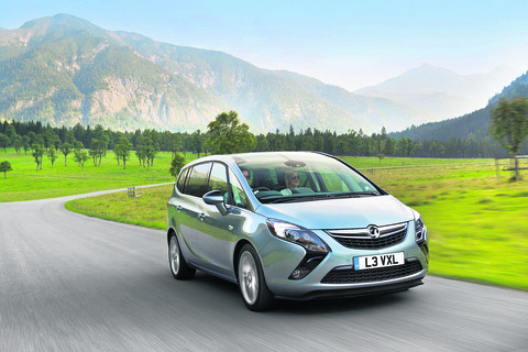 Comfort is a key factor in any vehicle aimed primarily at families, but the Zafira Tourer, with its new striking face, offers a more complete package