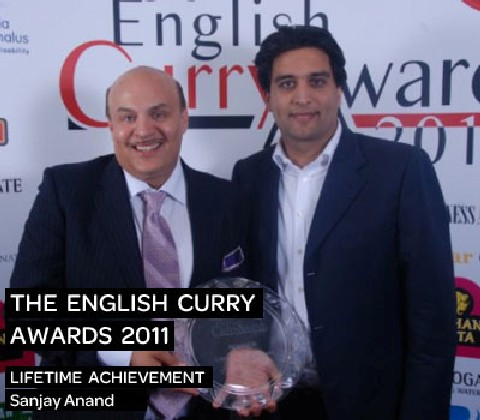 English Curry Awards 2012