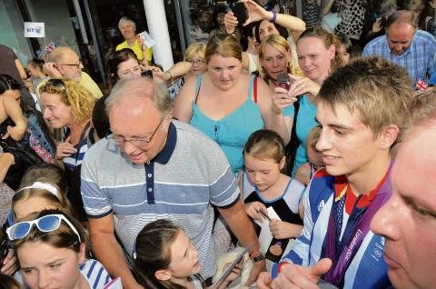 Star – Max Whitlock signs autographs at the Basildon Sporting Village