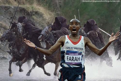 The best tribute to Mo Farah in pictures