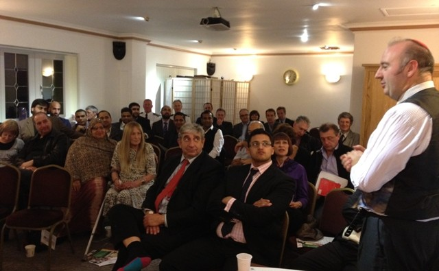 Muslim Jewish Forum business networking evening is a success