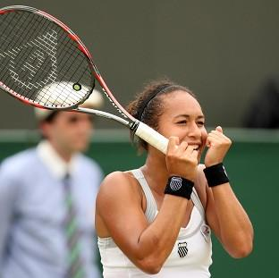 Heather Watson claimed her first WTA Tour title in Japan