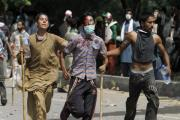 Scores injured after Islamabad protests