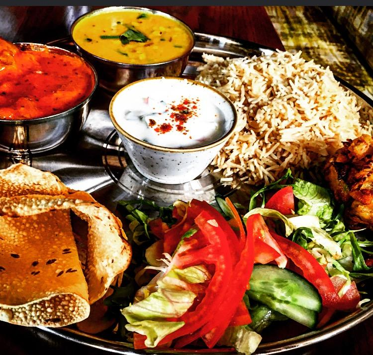 Review Scene Indian Street Kitchen Manchester Asian Image