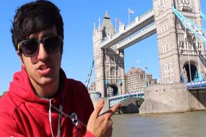 Vlogger who jumped off Tower Bridge vows to carry on - making YouTube videos that is, not doing 'stupid' stunts