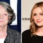 Asian Image: Can you see the likeness between Maggie Smith and Laura Carmichael? The Downton Abbey casting director certainly could