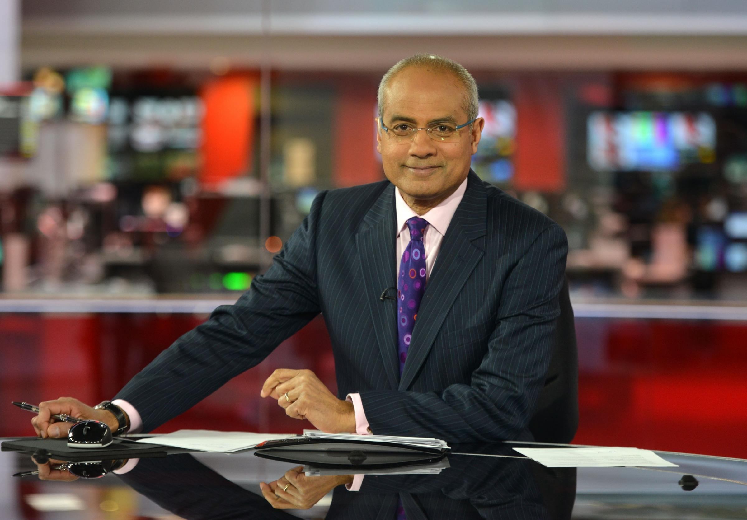George Alagiah welcomed back after cancer battle