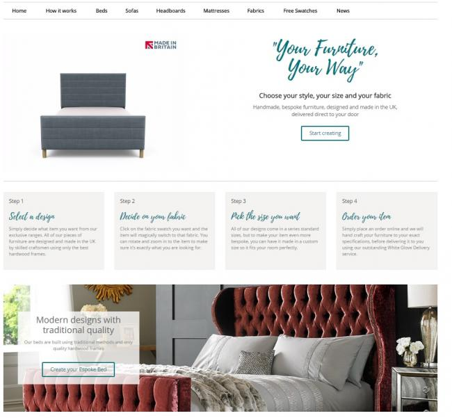 New Espoke Living furniture website goes live