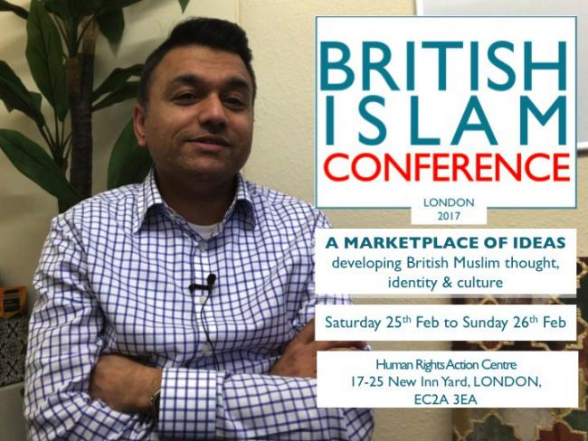 Which organisations will be at the British Islam Conference this weekend and which ones won't