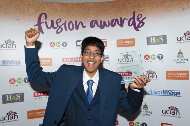 Young volunteer wins UCLan Education Achievement Award 2017