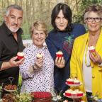 Asian Image: Bake Off team take a break from filming as tent temperatures reach boiling point