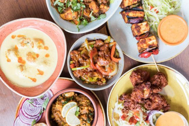 Dine For Half Price At Scene Indian Street Kitchen