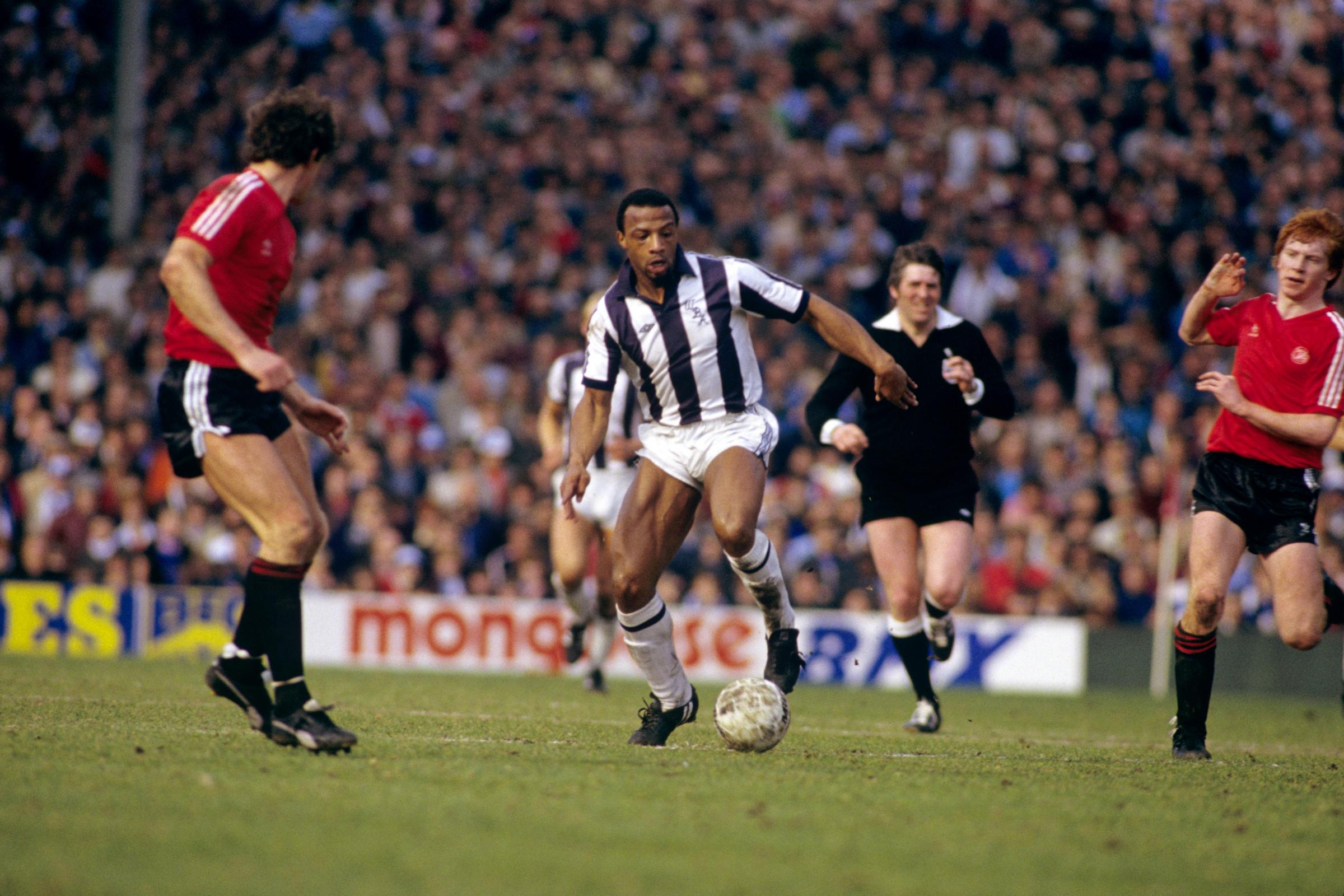 Cyrille Regis forged his reputation as a bustling centre forward with West Brom (Peter Robinson/EMPICS)