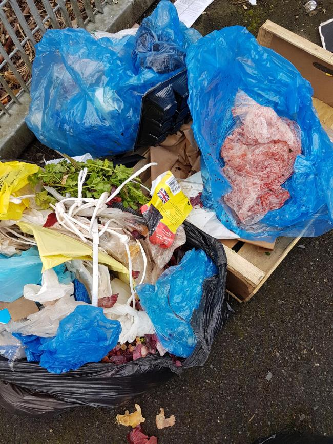 Halal butcher fined £5,000 for illegally dumping waste