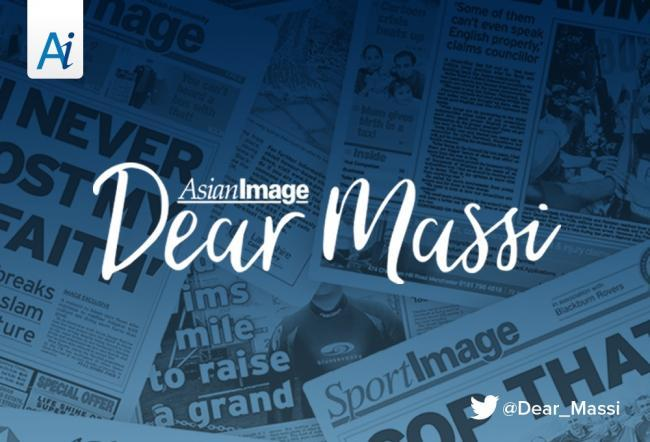 Dear Massi, He was embarrassed our daughter was wearing glasses