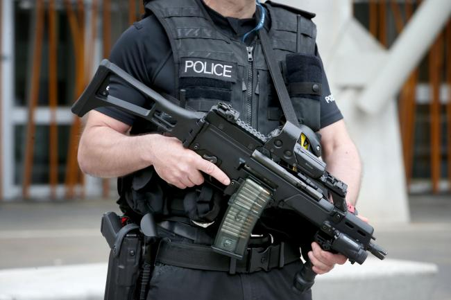 412 arrests for terrorism-related offences in Britain in 2017