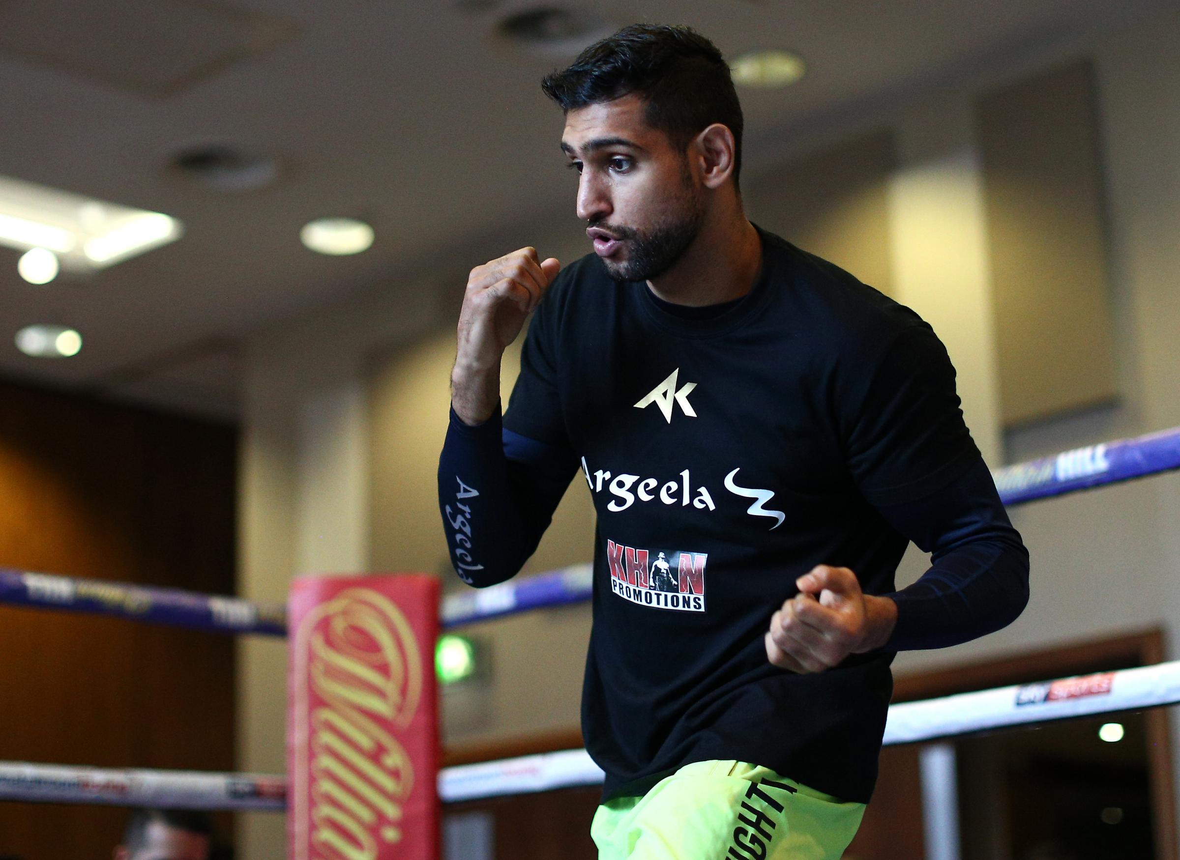 Amir Khan leads month of boxing action
