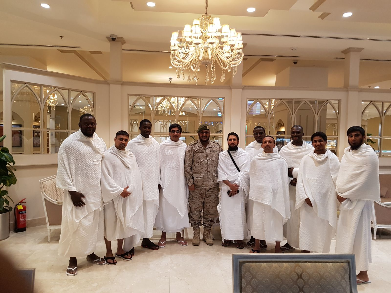 Muslims in the British Armed forces partake in Umrah