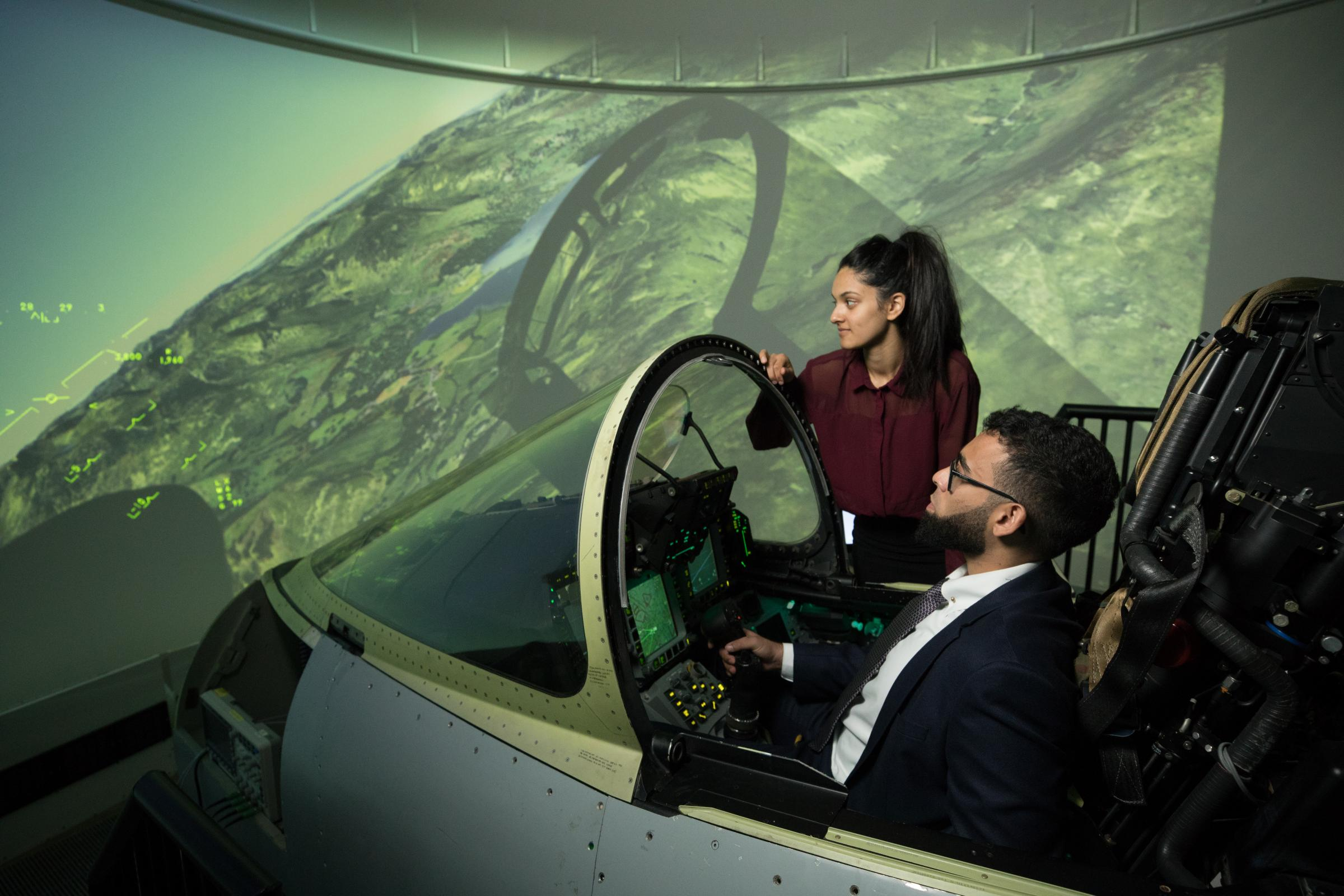 Graduate Salima on careers and apprenticeships with BAE Systems