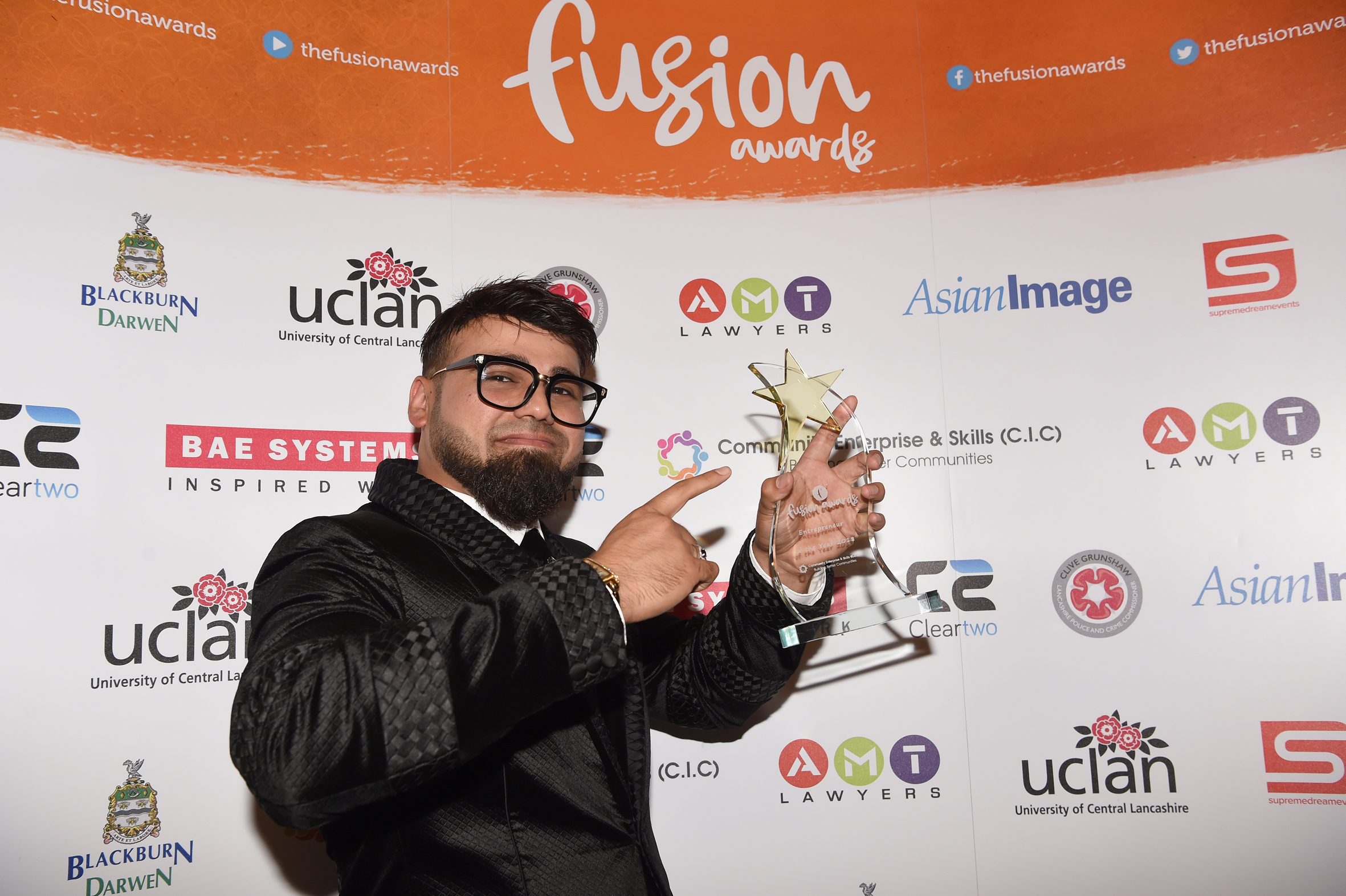 Fashion designer Bilal wins Entrepreneur Award