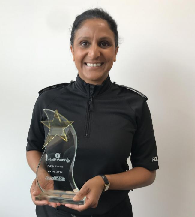 Deputy Chief Constable Sunita Gamblin wins Public Service Award