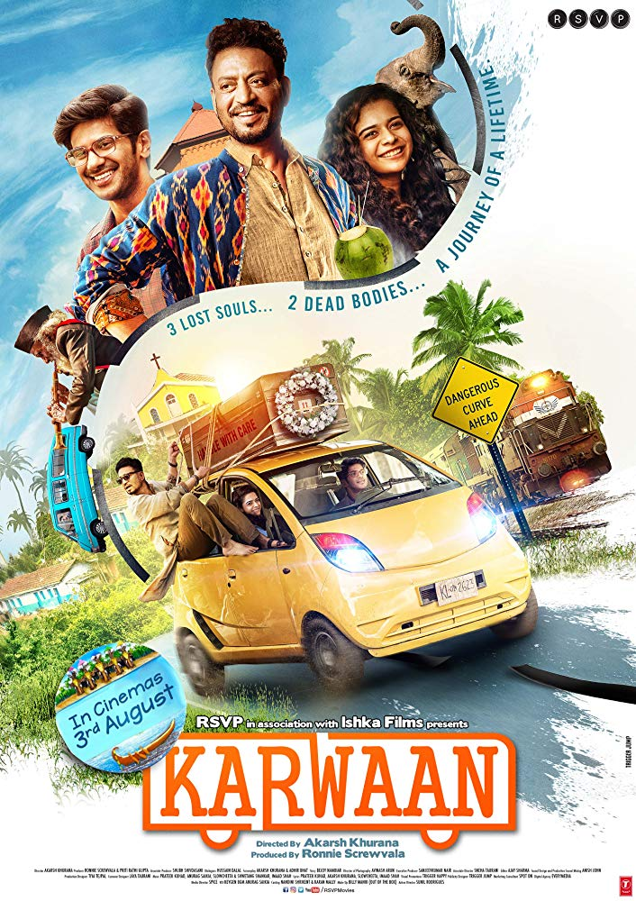 Irrfan Khan and Dulquer Salmaan in Karwaan