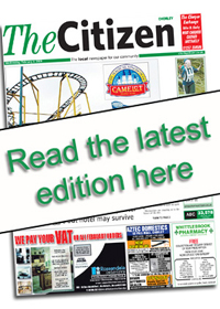 chorley citizen e edition front cover