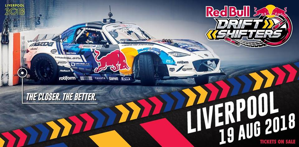 Red Bull Drift Shifters in Liverpool