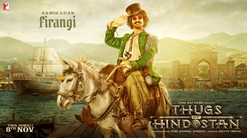 First Look: Aamir Khan as 'Firangi' in Thugs Of Hindostan