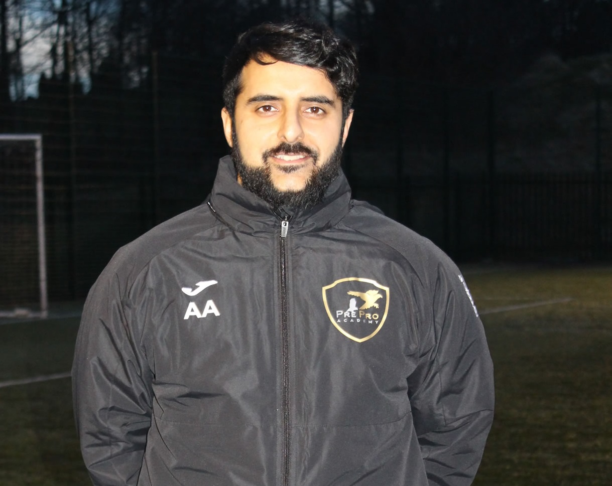 Adnan Ahmed: 'Talent only gets you so far but without hard work...you have no chance in today's football'