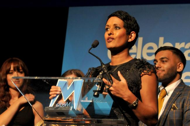 Journalists and broadcasters come out in force to support Naga Munchetty