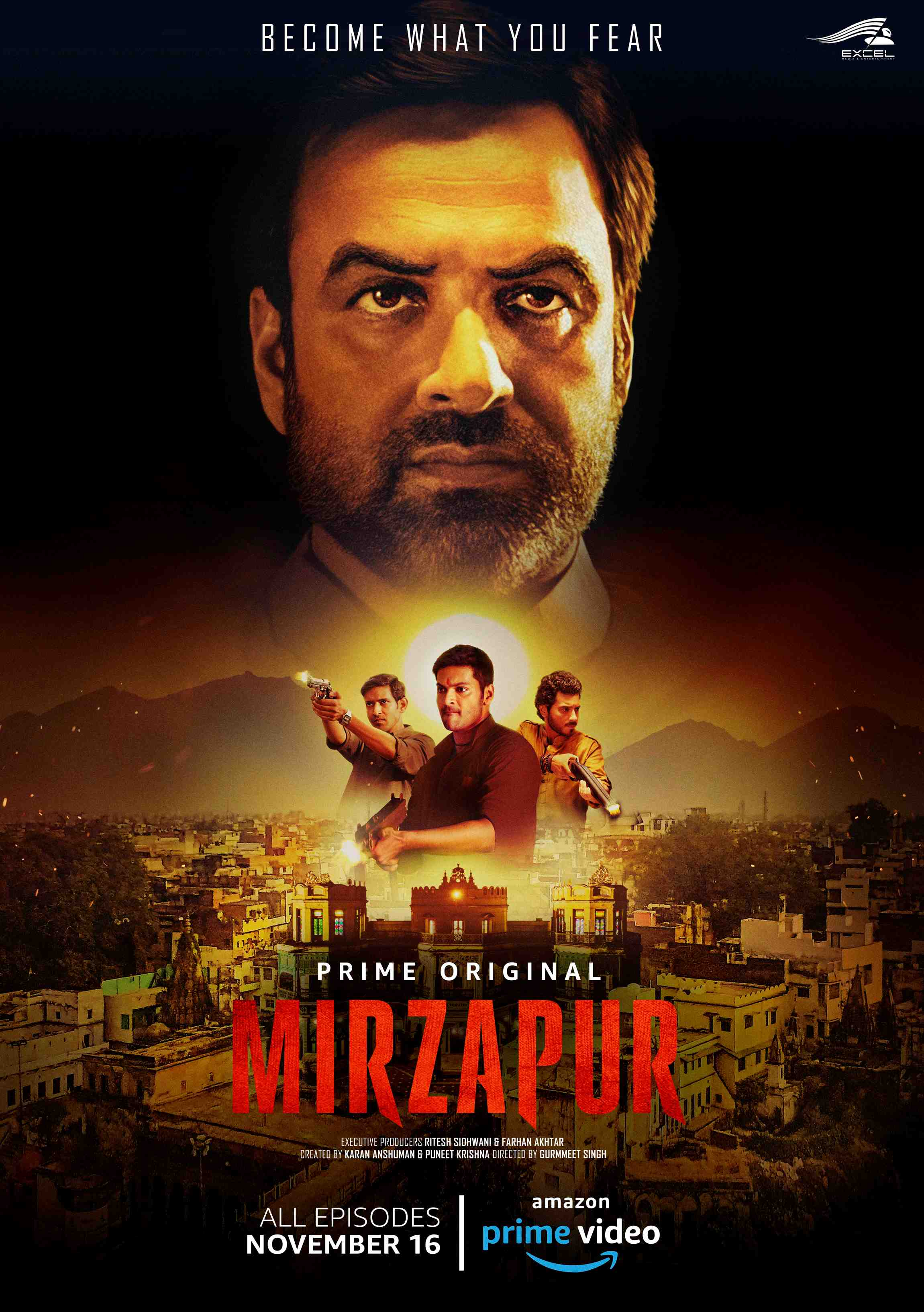 Mirzapur will be available on Amazon Prime in November