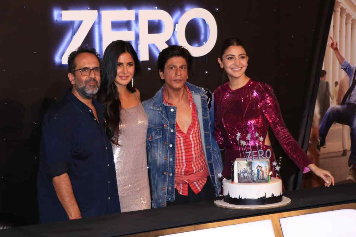 Shah Rukh celebrates birthday with launch of trailer to 'Zero'