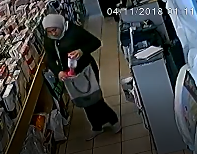 VIDEO: Woman caught on CCTV stealing charity box from store