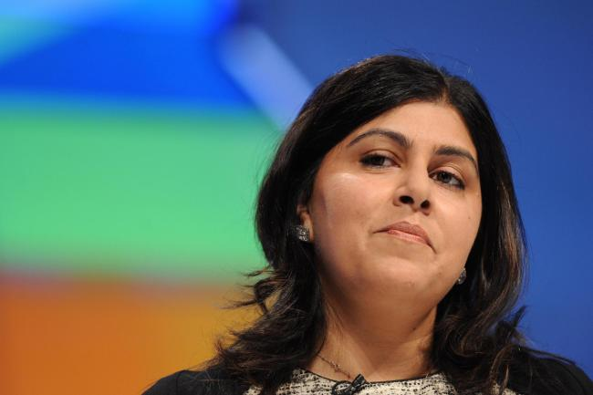 Sayeeda Warsi blunt response to 'not being Conservative enough'