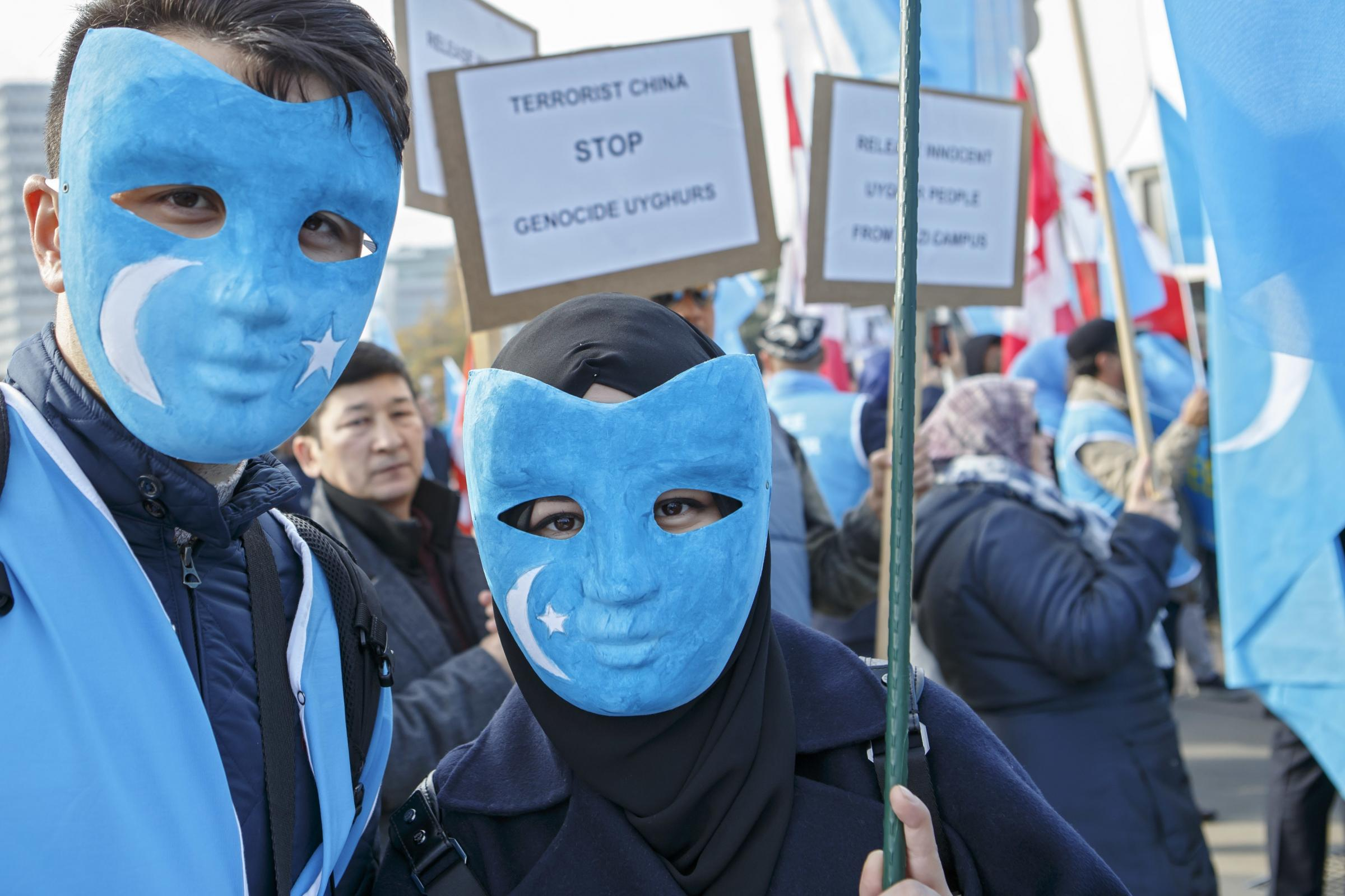 Switzerland Protest Uyghur Tibet