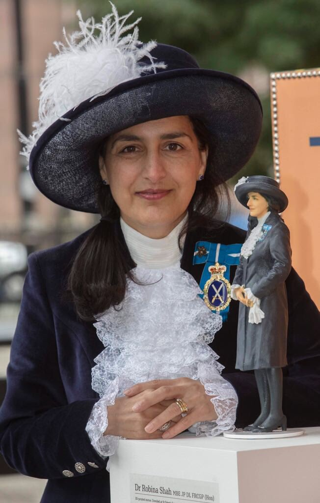 In the Spotlight: Dr Robina Shah who honoured with a statue of herself central Manchester