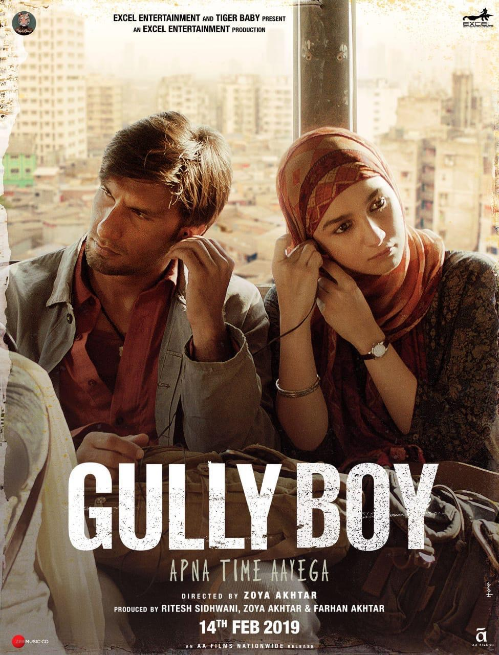 First Look: Ranveer Singh and Alia Bhatt in 'Gully Boy'