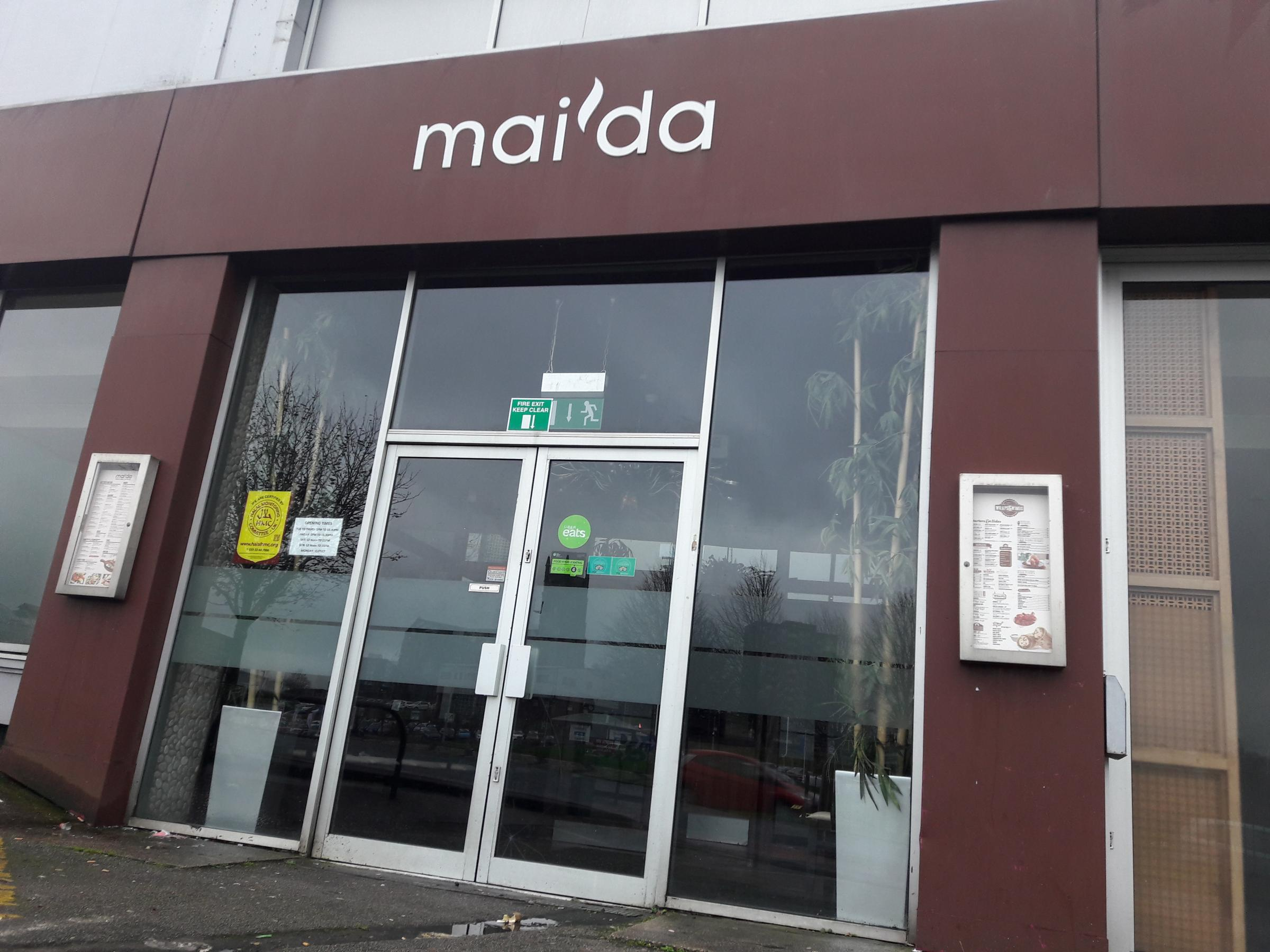 Maida Blackburn restaurant to convert to banqueting hall only