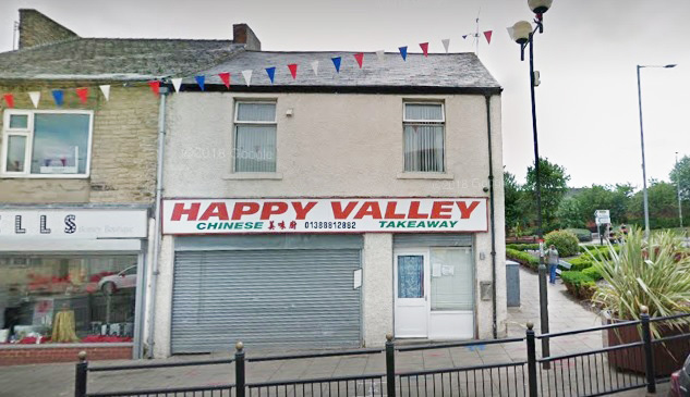 The Happy Valley takeaway in Spennymoor. Picture: Google